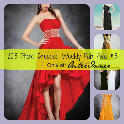 weekly fab five 2013 prom dresses #3