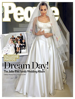 Jolie's Wedding Gowns