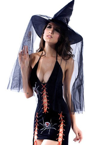 Halloween Black Witch Costumes