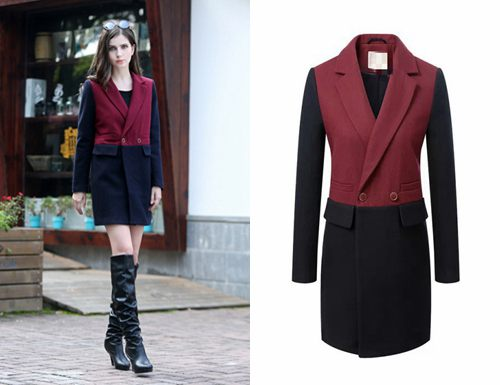 Fitted Winter Coat for Women