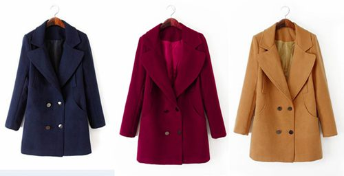 Women Wool Winter Coat