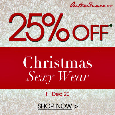 25% off sexy christmas costumes