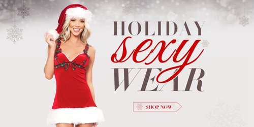 holiday sexy wear