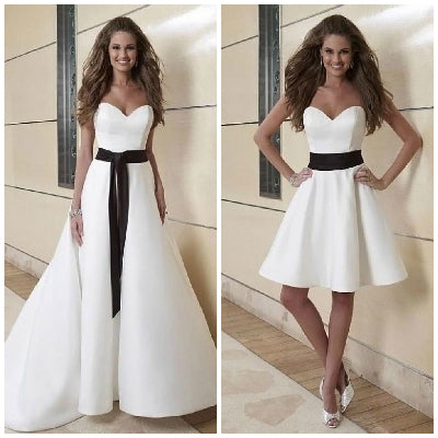 2in1 wedding gowns