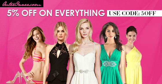 5% OFF everything outerinner offer April 14