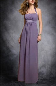 Purple Halter Empire Waist Sheath Homecoming Dress Style Code: 01618 Now $84.60