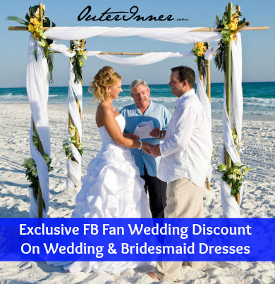 exclusive facebook wedding and bridesmaid dresses discount