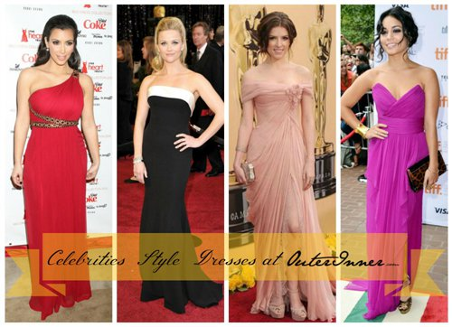 Celebrities Style Dresses: One Step Closer To Become A Star