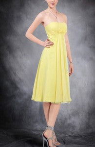 Chiffon Halter A-Line Bridesmaid Dress Style Code: 09531 $79