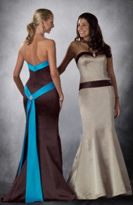 Sweetheart Sash Mermaid Bridesmaid Dress Style Code: 02778 $93.60