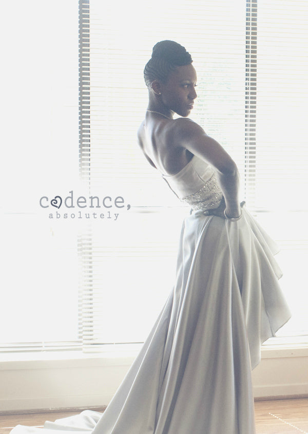 Dawnette's wedding gown
