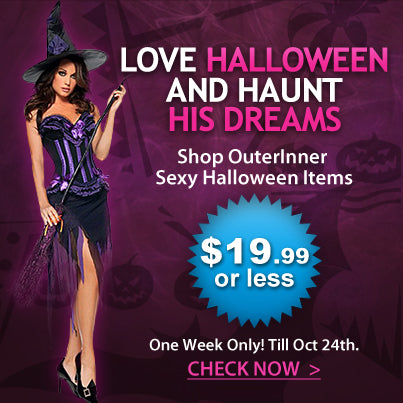 Halloween costumes outerinner.com offers