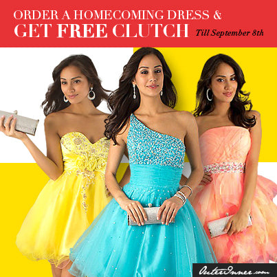 homecoming dresses banner