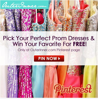 Win Your Prom Dress For FREE In The 2013 OuterInner Prom Season Contest!
