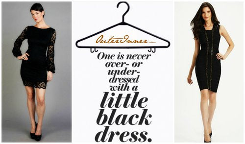 Little Black Dresses at OuterInner