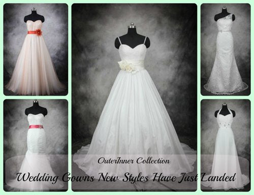 New Landed Wedding Gowns
