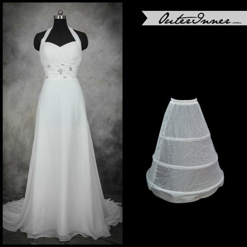 Nylon Floor-length Wedding Petticoats (0001) Style Code: 05585 US$14.90