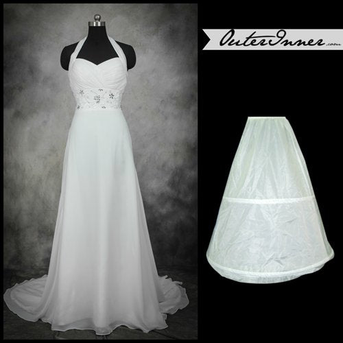 Nylon Floor-length Wedding Petticoats (0003) Style Code: 05587 US$12.90