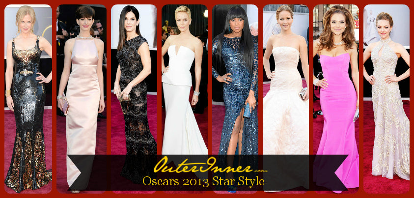 Oscars 2013 Red Carpet Style Black Tie Event Dresses