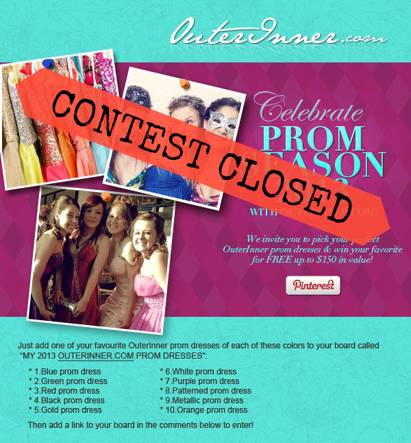 prom dresses contest march 2013 now closed