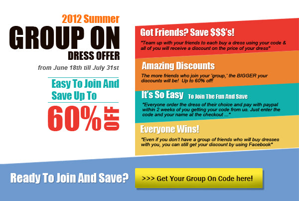 group on 2012 save up to 60% off your next outerinner.com dress