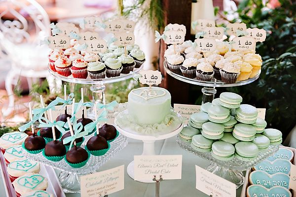 Spring wedding food ideas | dessert stations