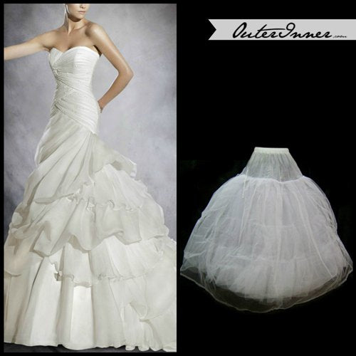 Nylon / Tulle Floor-length Wedding Petticoats (0006). Style Code: 05590. US$24.90