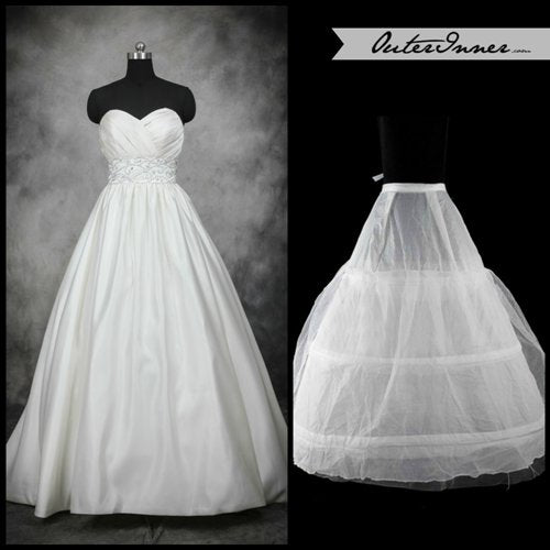 Without Train With Hoops Petticoat. Style Code: 08020. US$11.90