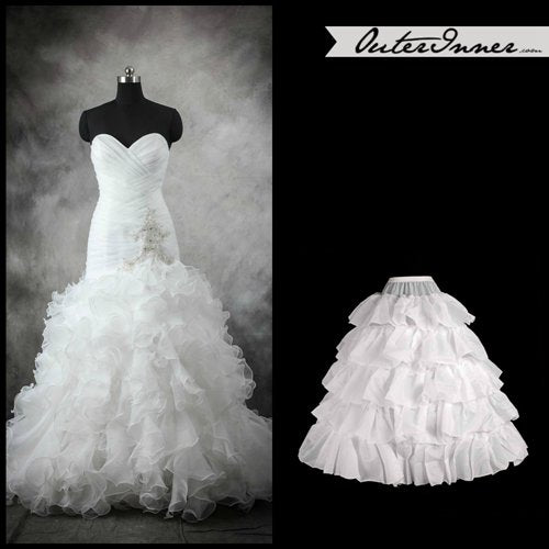 Without Train Without Hoops Petticoat. Style Code: 08024. US$28.90
