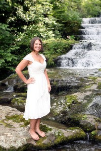 Real OuterInner Customer Reviews: Adrienne Mullins' Wedding Dress