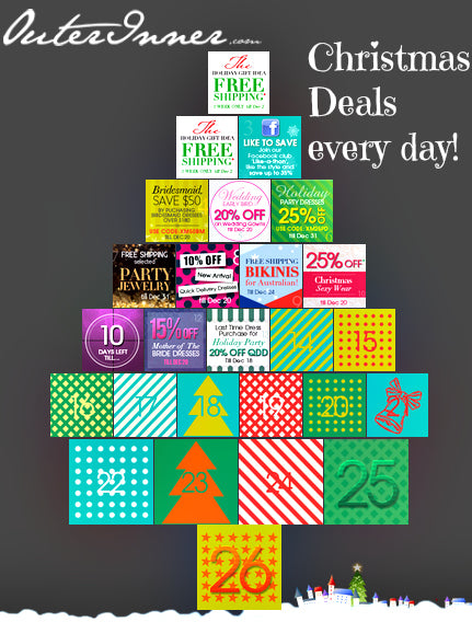 daily deals with the outerinner.com advent calendar