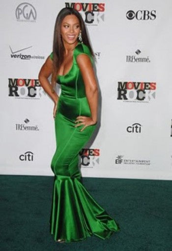 beyonce mermaid dress