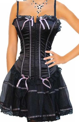 corset back short dresses 03867