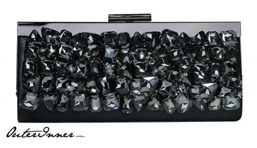 Black Crystals Clutch, Style Code: 08727, US$69.00
