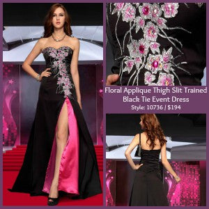 black tie event dress 10736