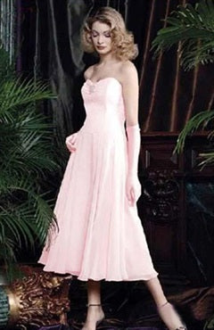 Sweetheart Pink A-line Bridesmaid Dress, Style Code: 00222, US$74.00