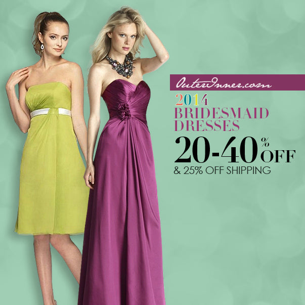 2014 bridesmaid dresses from OuterInner.com