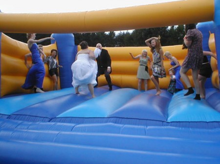 would you have a bouncy castle at your wedding?
