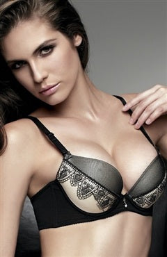 Contrast Plunge Bra, Style Code: 09622, US$42.99