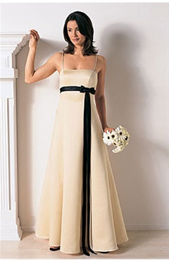 Spaghetti Straps Empire Sashes/ Ribbons Sleeveless Bridesmaid Dresses, Style Code: 01526, US$59.00