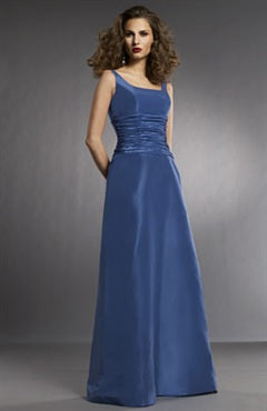 Square Sleeveless A-line Ruffles Bridesmaid Dresses, Style Code: 02711, US$84.00