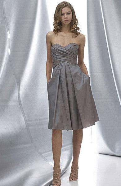 Sweetheart A-line Ruffles Knee-length Sleeveless Bridesmaid Dresses, Style Code: 05171, US$74.00