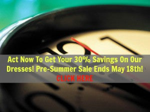 Pre summer dress sale ends may 18th!
