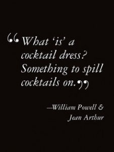 cocktail dresses quote