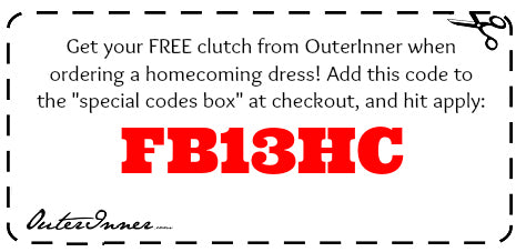 homecoming dresses coupon