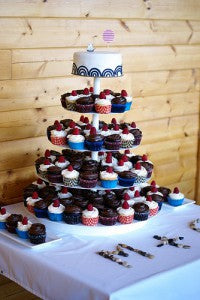 wedding cupcakes: wedding food trends