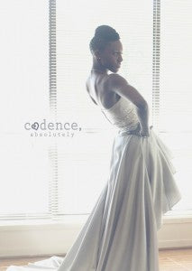 Real OuterInner Customer Reviews: Dawnette Joseph's Wedding Gown