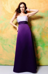 Sash Floor-length Ruched A-line Bridesmaid Dress  Style Code: 13822 $151