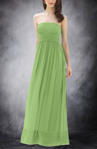 Strapless Empire Chiffon Sleeveless Bridesmaid Dresses, Style Code: 02803, US$104.00