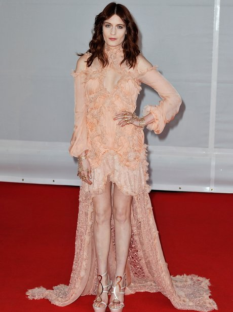 Florence Welch Brits 2012